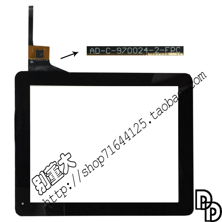 Новый 9,7 дюймовый планшет емкостный сенсорный экран письменном таблетки AD-C-970024-2-FPC новый оригинал