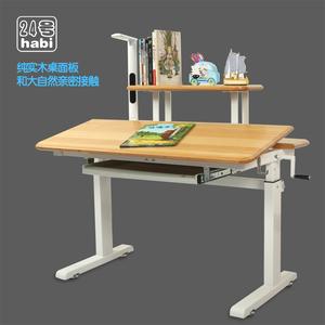 儿童实木学习桌...