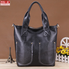 Fall/winter show packs a 2015 brand new multi compartment leather shoulder bag lady bag bale bulk