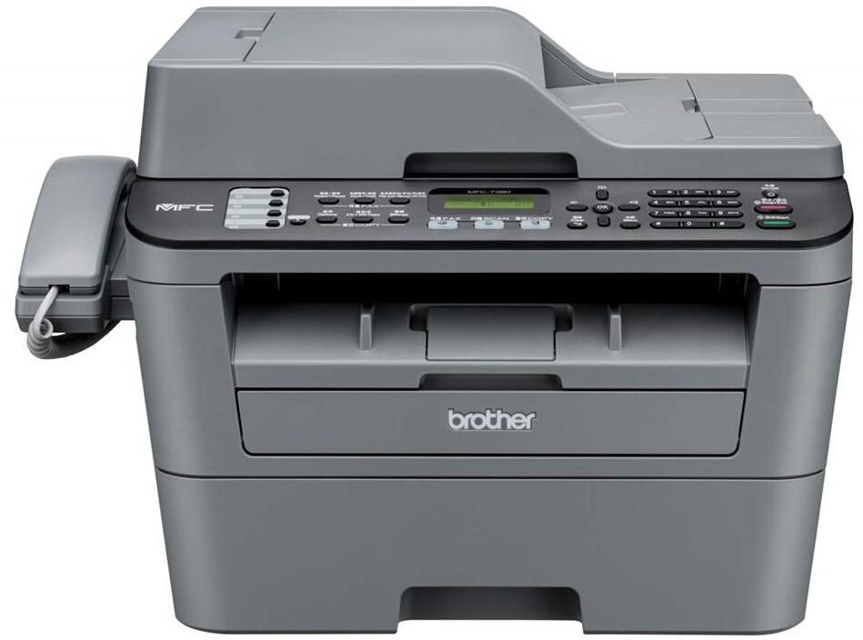 兄弟MFC-7380 黑白激光多功能一体机 A4打印机 复印 扫描 PC传真