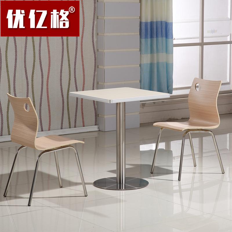 Кафе Uye Gekkende разделяет простой стол закуски изогнутый деревянный стул фаст-фуд стол и стул комбинированный стол два стула оптовые продажи