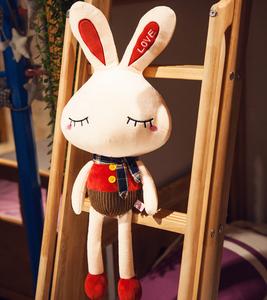 可爱长耳兔玩偶小号兔子毛绒<span class=H>玩具</span>布娃娃公仔兔<span class=H>儿童</span>情侣宝宝礼物女