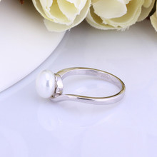 18 k platinum ring ring ring mother-of-pearl couples han edition sterling silver jewelry accessories new life love men and women