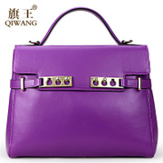 Qi Wang brand autumn bag genuine leather women bag 2015 European fashion women's shoulder bags diagonal with the bag