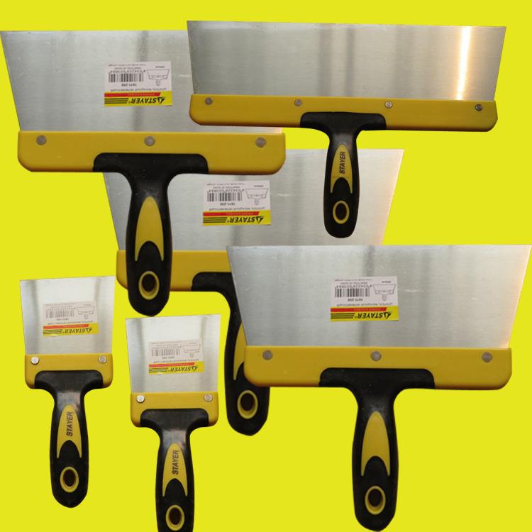 铲刀油灰刀油漆工专用刮腻子刮刀铁板批灰找平腻刀保洁铲刮灰工具