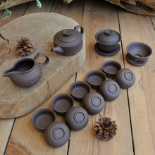 A complete set of celadon ceramic tea set ceramic tea-pot kung fu tea set sea ice cracked cup tea your kiln tea tray