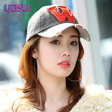 UASU fine embroidered ny sport leisure baseball cap Han edition of men's and women's cap summer outdoor sun sun hat