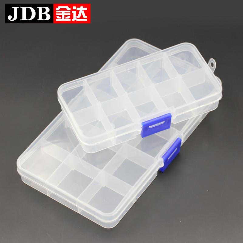 Золото достигать прозрачный в коробку пластик ювелирные изделия небольшой в коробку покрытый коробку аксессуары сетка коробка
