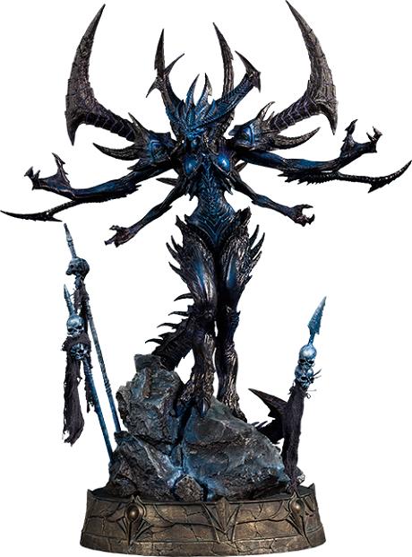 【展示】SIDESHOW Diablo/迪亚波罗 噩梦版 全身像 雕像 全球限量