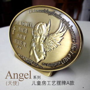 Christian Gifts Hong Kong LTG Christian jewelry silver angel A series of models of child card craft ornaments