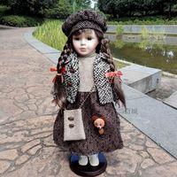 41厘米俄罗斯陶瓷洋娃娃礼物礼品收藏儿童玩具女孩沙龙类正品包邮