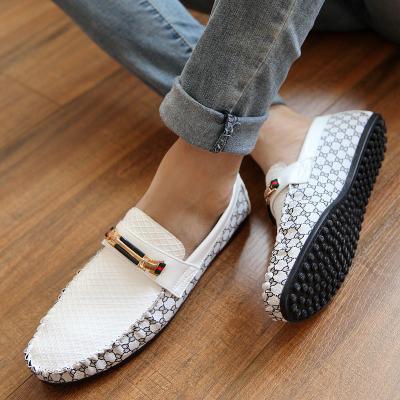 Летние тенденции Дуг ботинки корейской версии lazy человек обуви прилива бизнес Повседневная обувь мужская обувь в весенний ветер Англии мужская обувь