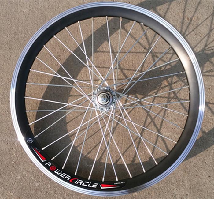 Толстый двойной слой действительно нож кольцом велосипед алюминиевый сплав автомобиль круг 16 20 22 24 26 700C 27 переключение передач колесо