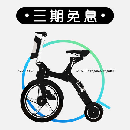Notebike Folding Electric Bicycle Mini Electrical Battery Bike