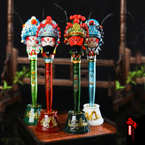 Nanjing Specialty Peking Opera Facebook pen Chinese featured gifts send foreigner gift play Doctor Chinese style crafts