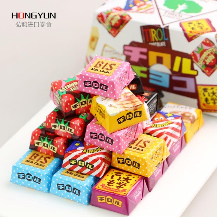 Электронная почта Японии импортированные закуски Валентина конфеты красочные ассорти Шоколадные таблетки 27 Мацуо
