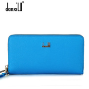 Danxilu wallet large zip around wallet leather handbag women fashion Korean version