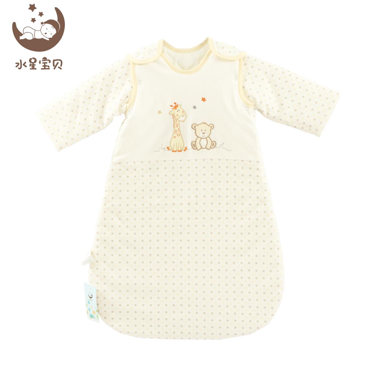 Вода звезда ребенок ребенок спальный мешок Baby в небе звезда съемный спальный мешок противо удар находятся спальный мешок