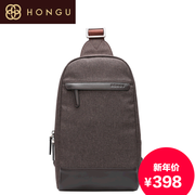 Honggu red Valley man counters authentic new style men's fashion spring/summer 2015 chest bag canvas thread for 6208