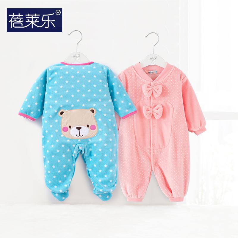 Полная Луна ребенка сиамские одежда платье девушка мужской новорожденных 0-3 Весна и осенние месяцы длинный рукав пижамы износа осень/зима