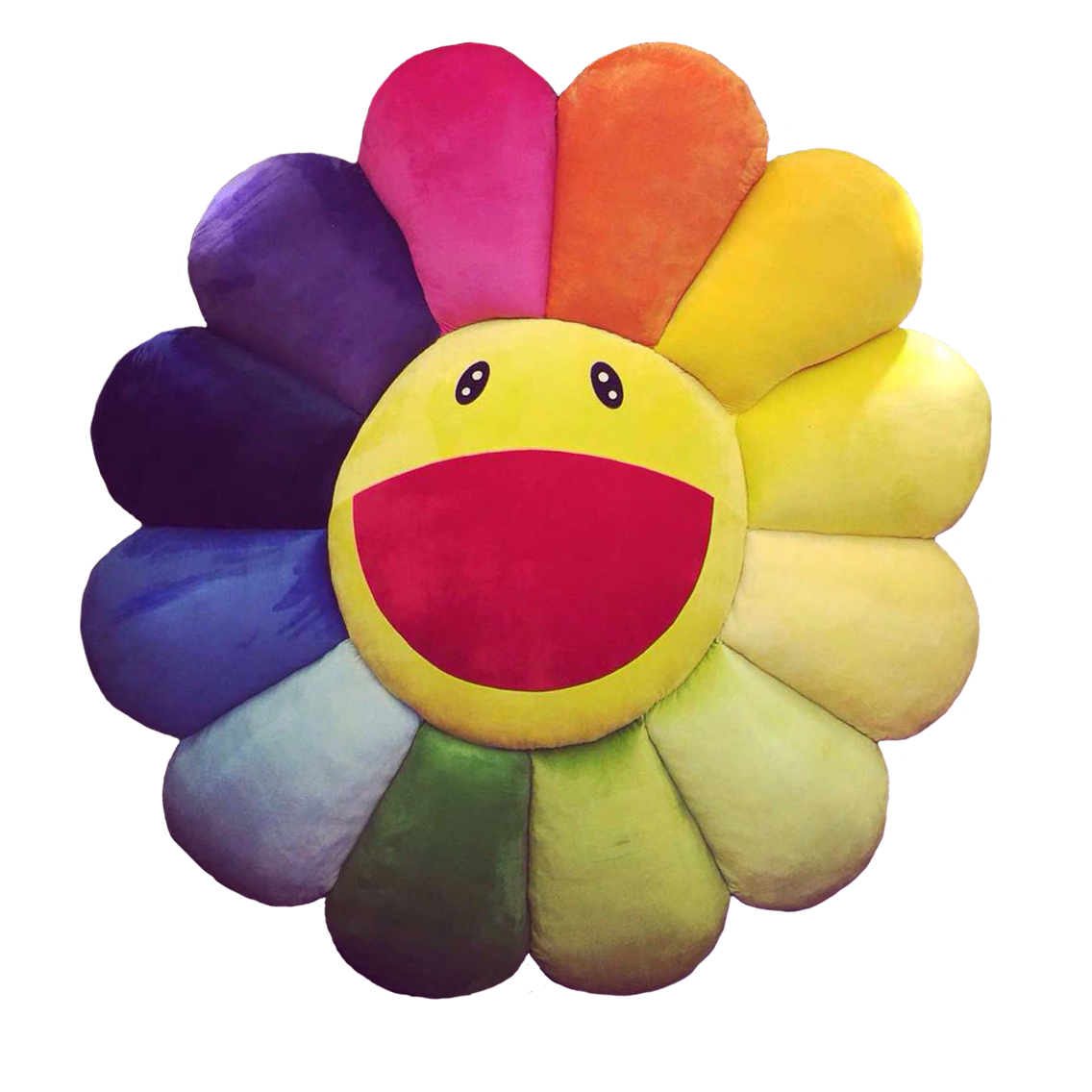 Gd одинаковый ins модель деревня на большой радуга солнце плюш личность творческий декоративный бездельник негабаритный подушка куклы