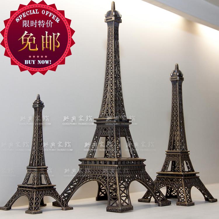 Париж Эйфелева башня орнаменты творческий декор дома подарки стол украшения почты