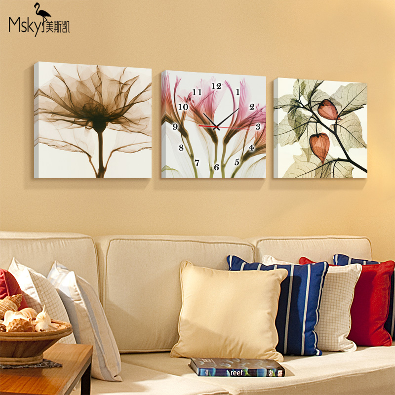 US Skye modern living room decorative painting bedroom triple ...