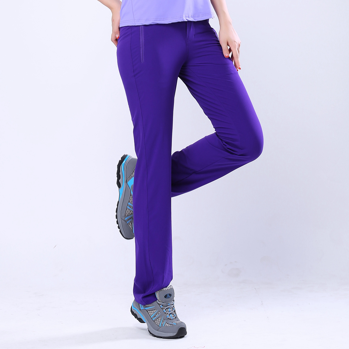 Spring and summer new quick drying pants sports quick drying ultra light pants wear-resistant outdoor womens pants