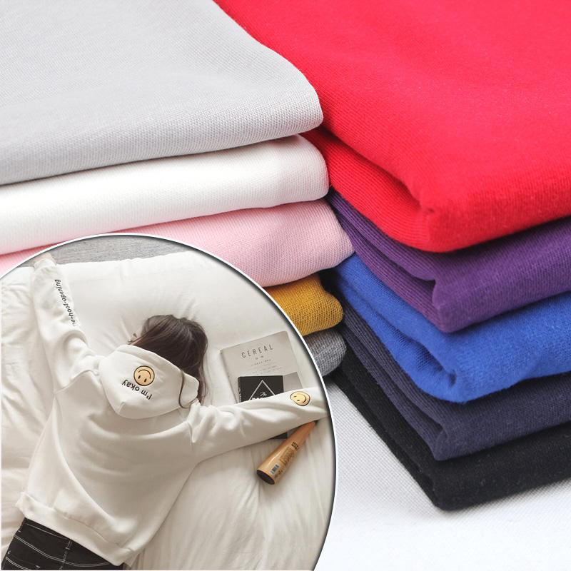 衛衣布料 拉絨加厚加絨大毛圈 純棉 服裝針織全棉保暖麵料