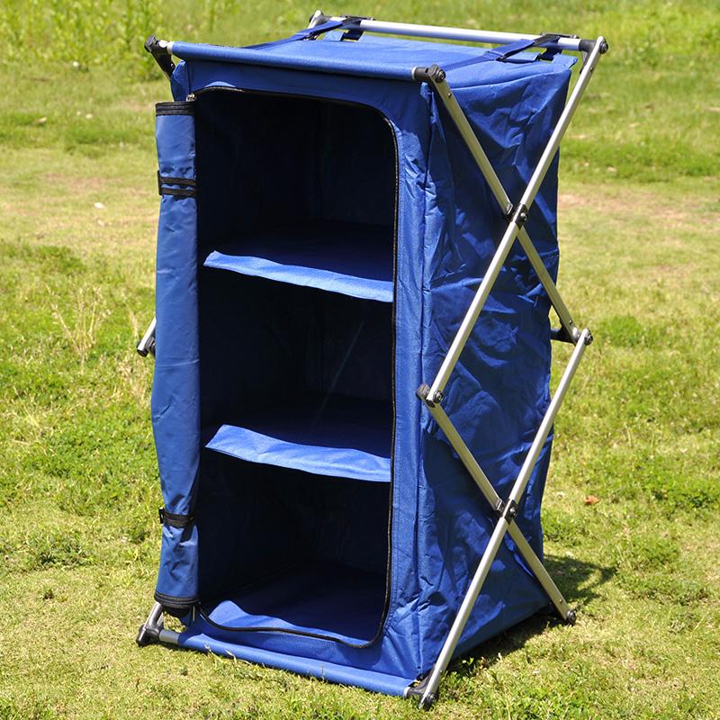 На открытом воздухе кемпинг сложить ткань кабинет обувной гардероб три шкаф кухня полка барбекю портативный портативный