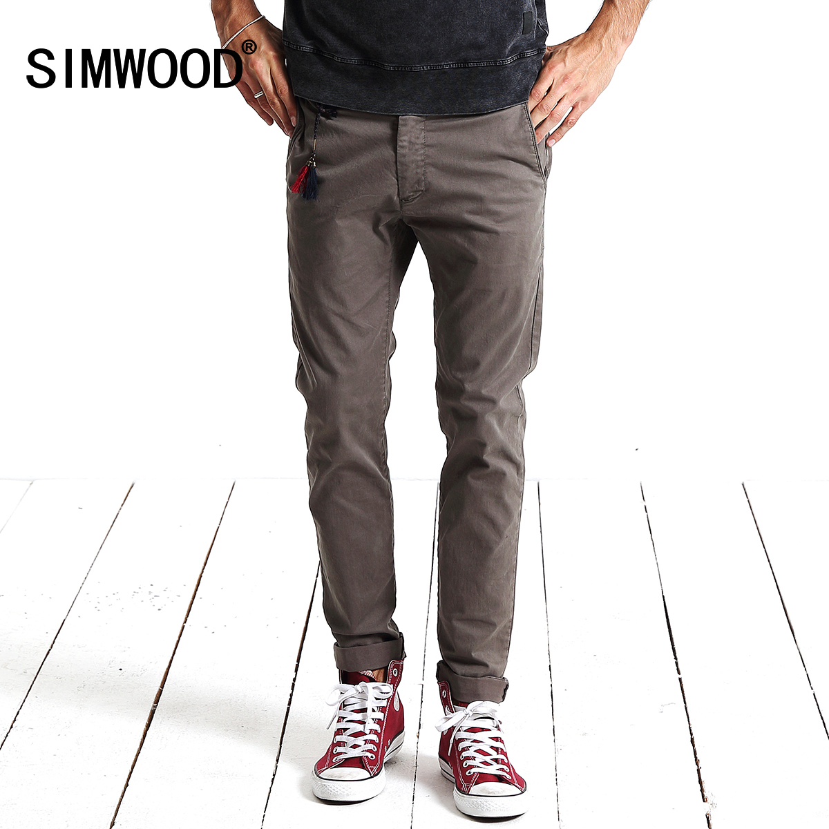 simwood吊墜小腳 褲