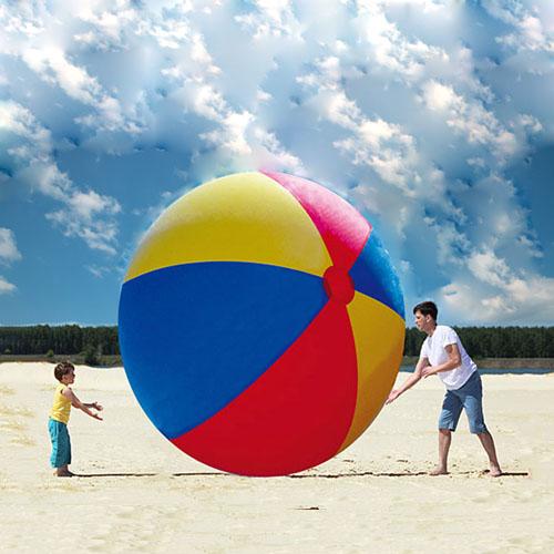 Новая коллекция [超大充气沙滩球戏水球户外玩耍球广场大型道具球活动舞台装饰]
