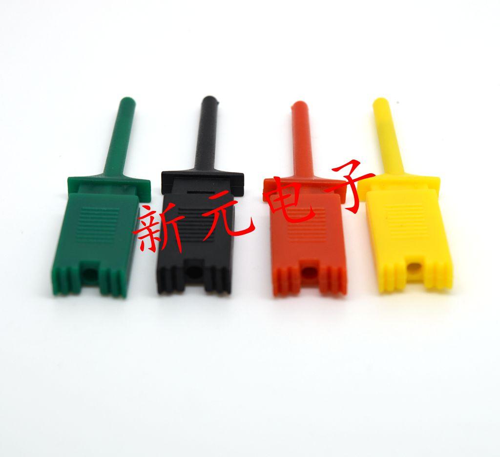 测试扁夹子 测试夹供电 电源夹子 实用精密 勾子 可伸缩弹簧夹
