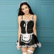 High-end lingerie a sexy maid's real tight SAO maid extremely suits skirts adult S uniform temptation