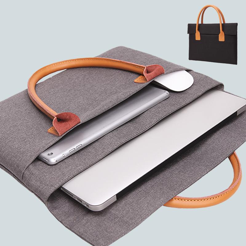 苹果小米笔记本电脑包macbook13.3英寸air12内胆包macpro15.6寸手提包11寸14寸男女通用时尚电脑包