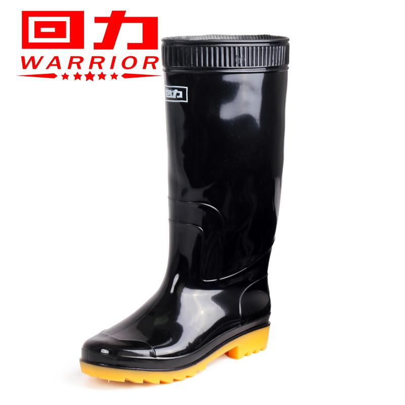 回力雨靴男款防滑水鞋男套鞋膠鞋男士防水鞋高筒鞋短筒水靴釣魚鞋