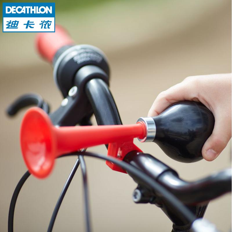 Следовать карта леннон велосипед динамик ребенок верховая езда автомобиль колокол дети большой звук газ динамик K BTWIN