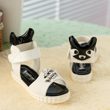 Daily specials children cuhk virgin sandals parent-child han edition leisure platform shoes bottom shoes show the princess