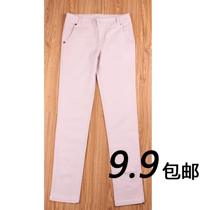 秋装长裤专柜女工装裤休闲裤长裤实体店包邮下单只需9块9