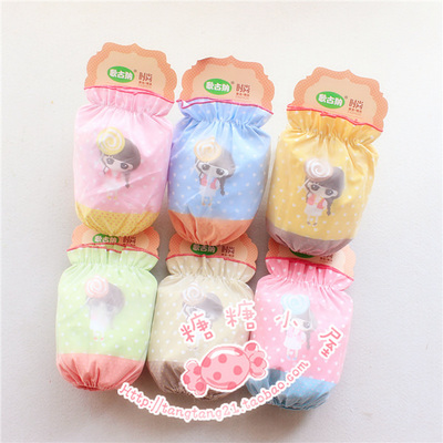 15 new child baby waterproof sleeve raglan sleeve cuff infant cuff private students double sleeve cuff