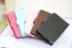 厂家直供 2012年爆款 7寸平板电脑 电子书 MID 铁扣皮套 保护套