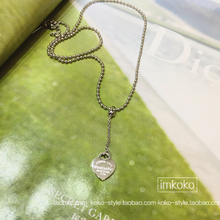 Special!!!! T love letter pendant Silver lettering 14 k white gold plated necklace Joker collarbone chain