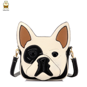 Amoy new personalities cartoon fashion summer shoulder bag trend small dogs small diagonal Korean leisure bag