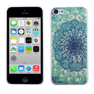 2016 New Green Totems Vintage Floral Pattern Hard Case Skin