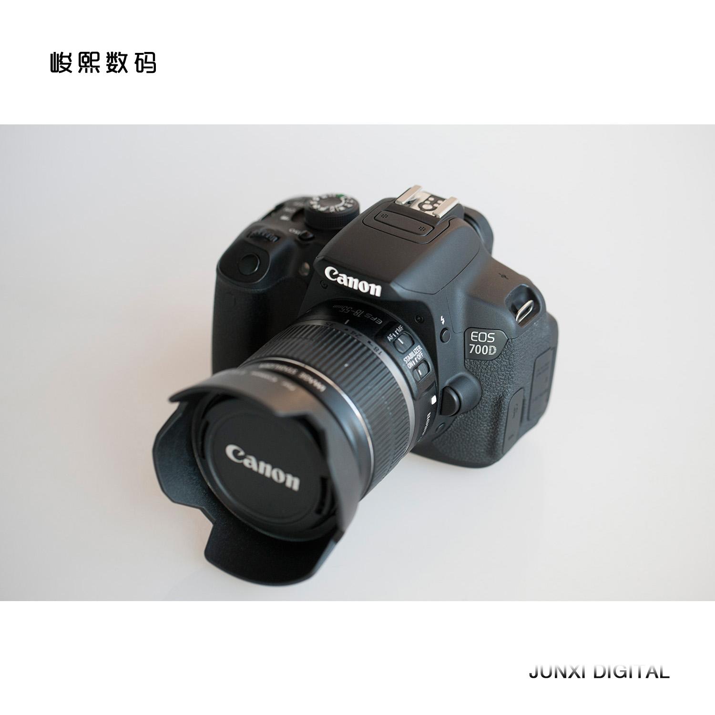 二手 佳能700D套机 入门级单反相机 支持器材互换 录像摄像功能