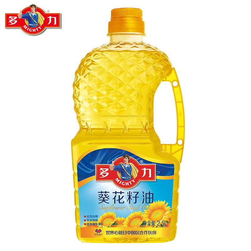 ~天貓超市~多力 葵花籽油 2.5L 葵籽去殼壓榨 食用油