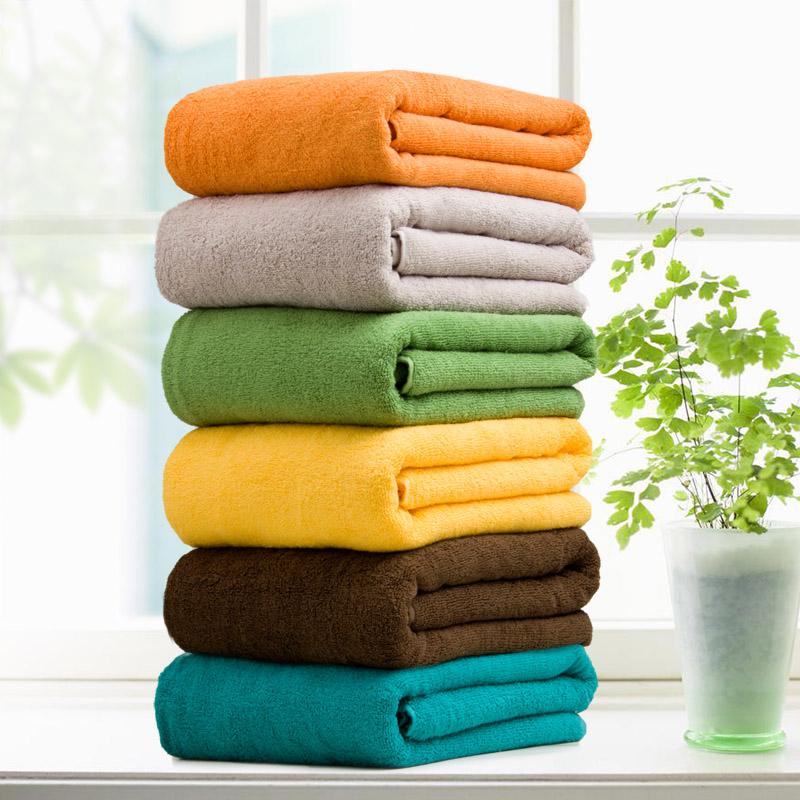 【怡天时纯棉】加大厚180cm浴巾-优惠后50元包邮