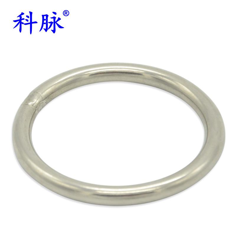 科脉 304不锈钢圆环 O型环 实心圆圈 链条园环 焊接钢环 手拉圆环