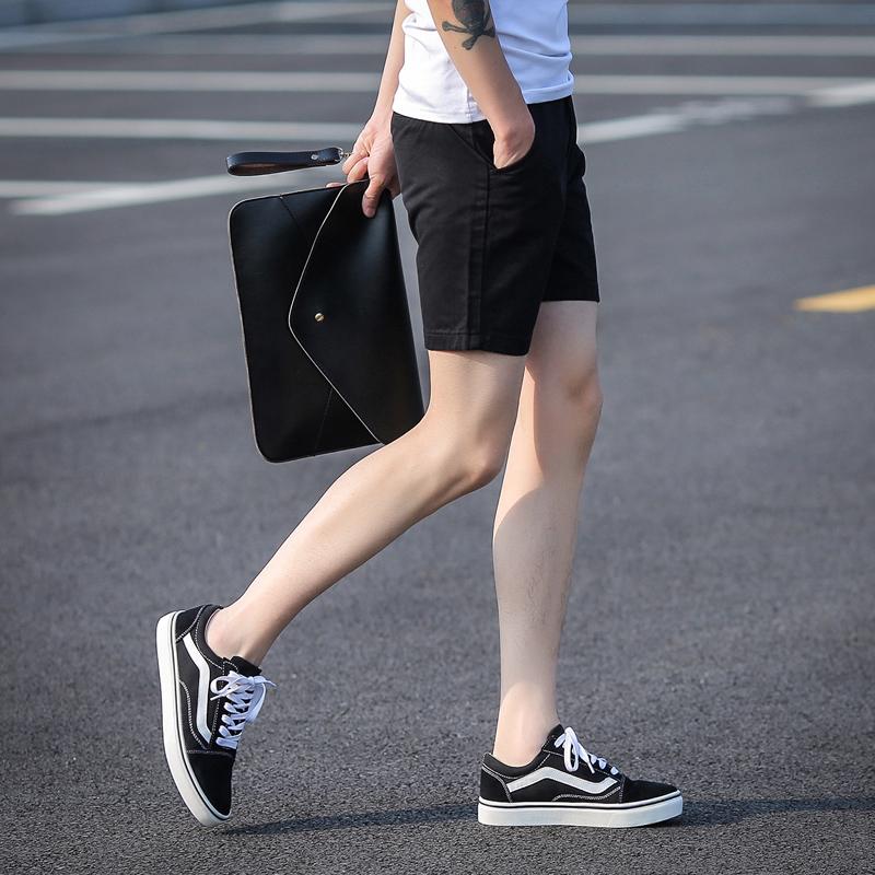 Summer mens three pants mens three pants super shorts sports casual pants Korean beach pants mens fashion