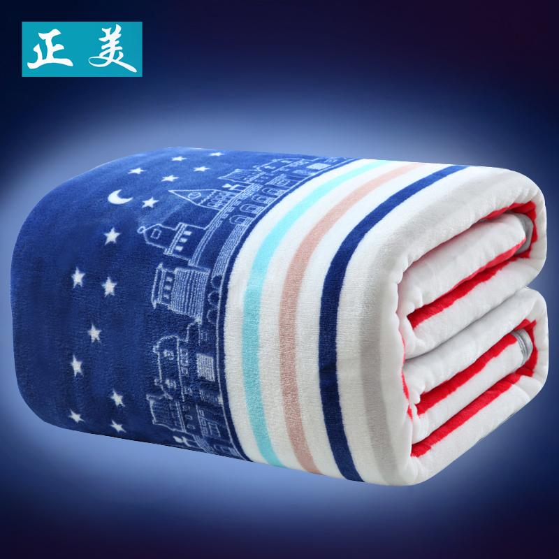 毛毯加厚毯子雙人雲貂絨毛巾被單人珊瑚絨毯子床單蓋毯空調午睡毯